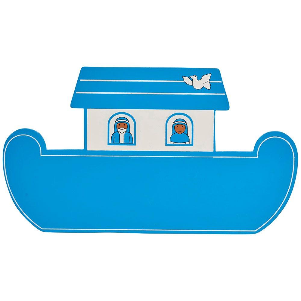 Fair Trade Wooden Blue Noah U0026 39 S Ark Plaque