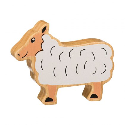 Natural white sheep