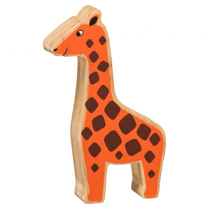 Natural orange giraffe