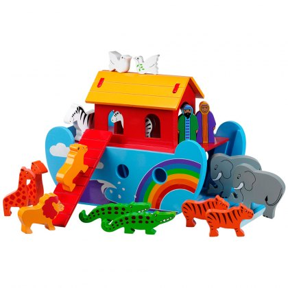 Small rainbow Noah's ark