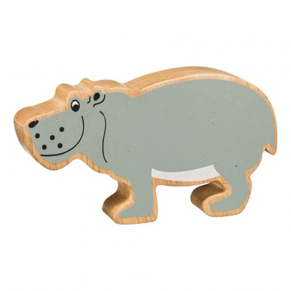 Natural grey hippo