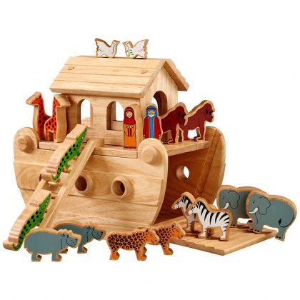 Junior Noah's ark with colourful characters