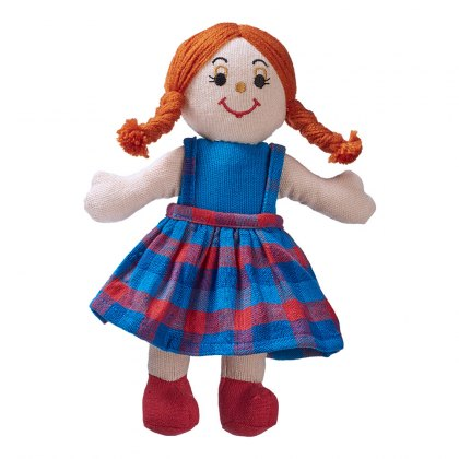 Girl doll - white skin red hair