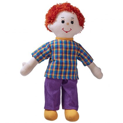 Dad doll - white skin red hair