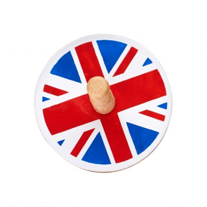 Union Jack spinning top