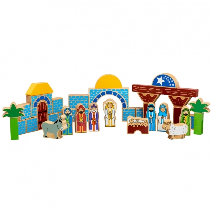 Nativity building blocks