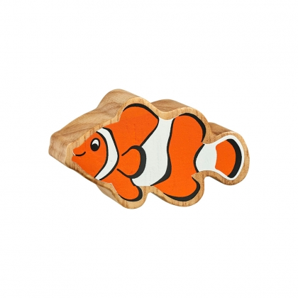 Natural orange & white clownfish