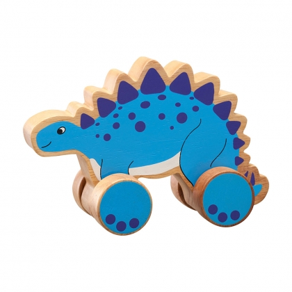 Stegosaurus push along