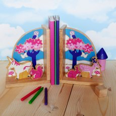 Enchanted forest bookends
