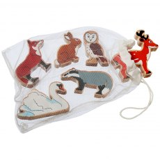 Countryside animals - bag of 6