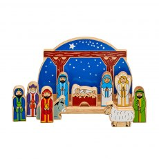 Junior starry night nativity
