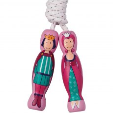 Prince & princess skipping rope