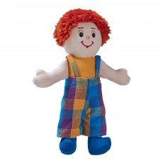 Boy doll - white skin red hair