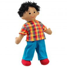 Dad doll - brown skin black hair