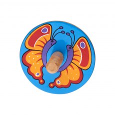 Butterfly spinning top