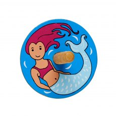 Mermaid spinning top