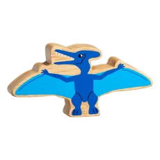 Natural blue pteranodon