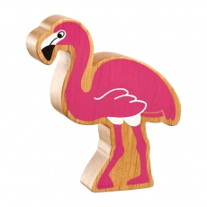Natural pink flamingo