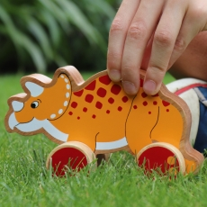 Triceratops push along