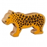 Natural yellow leopard