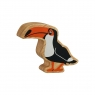 Natural black & orange toucan
