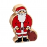 Natural red and white Father Christmas
